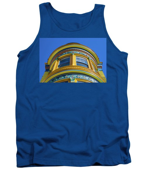 Haight Ashbury Painted Victorian Tank Top