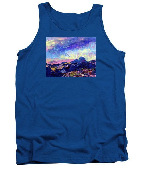 Half Dome Summer Sunrise Tank Top by Walter Fahmy