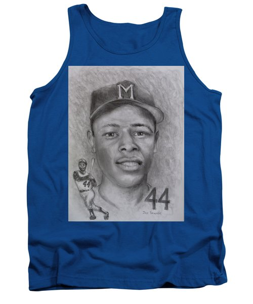 Tank Top featuring the drawing Hank by Jack Skinner