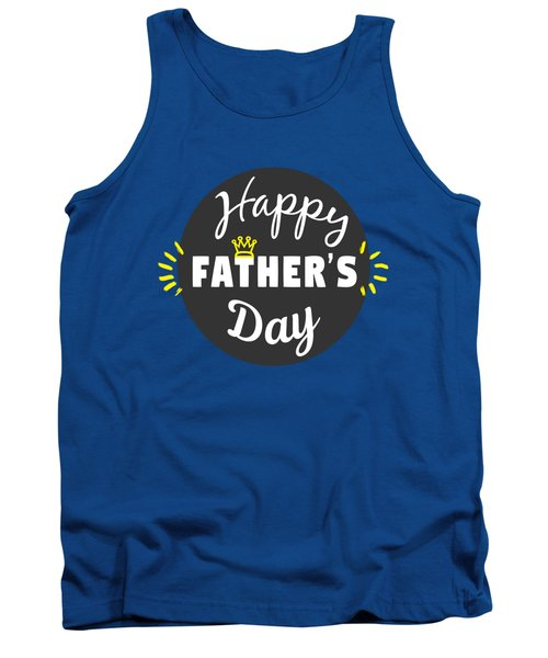 Happy Father's Day Tank Top