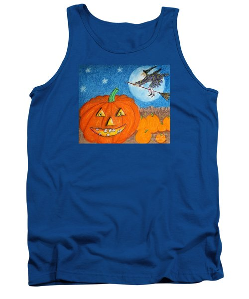 Happy Halloween Boo You Tank Top