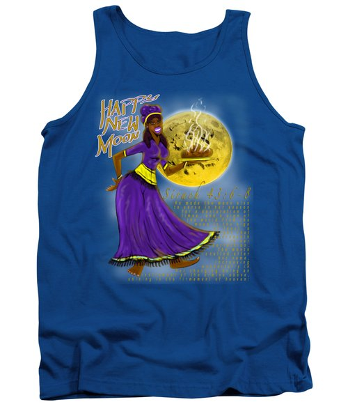 Happy New Moon Sirach 43 Tank Top