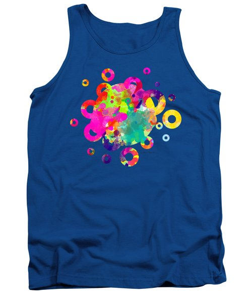 Happy Rings - Tee Shirt Design Tank Top