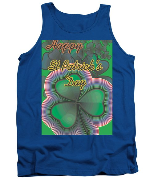 Happy St. Patrick's Day Tank Top