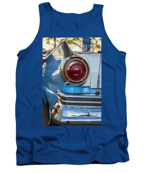 Tank Top featuring the photograph Havana Cuba Vintage Car Tail Light by Joan Carroll