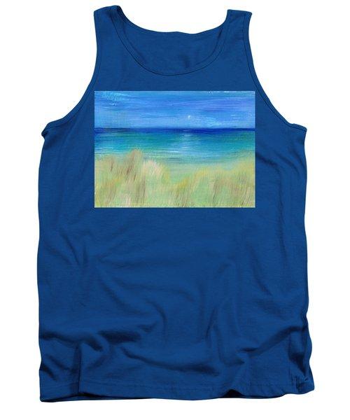 Hazy Beach Tank Top by Regina Valluzzi
