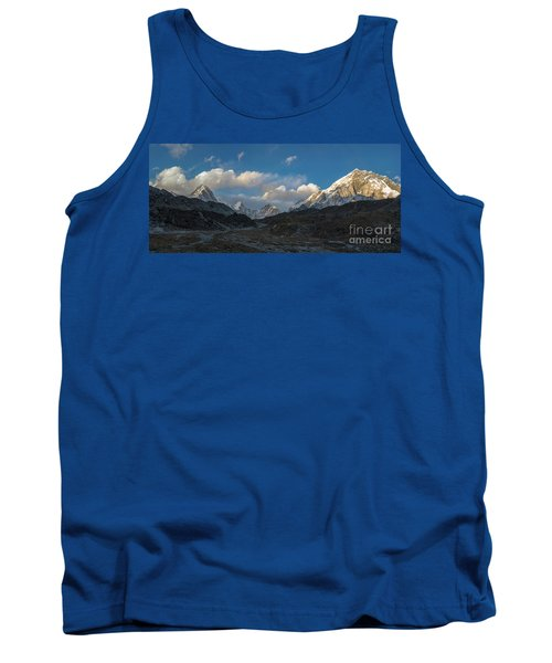 Tank Top featuring the photograph Heading To Everest Base Camp by Mike Reid