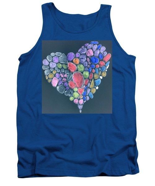 Heart Mosaic Tank Top