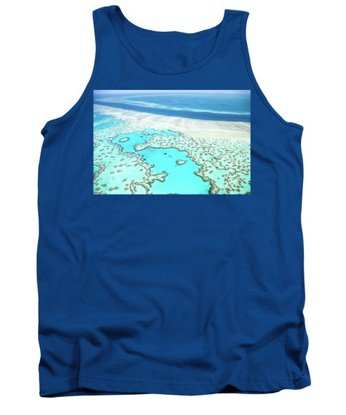 Tank Top featuring the photograph Heart Reef by Az Jackson