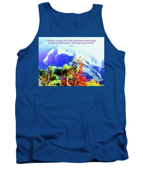 Heaven And Earth Tank Top by Russell Keating