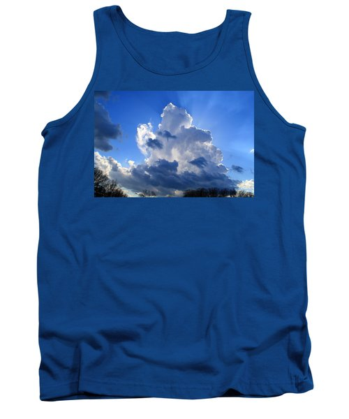 Tank Top featuring the photograph Heavenly Sunlight by Kathryn Meyer