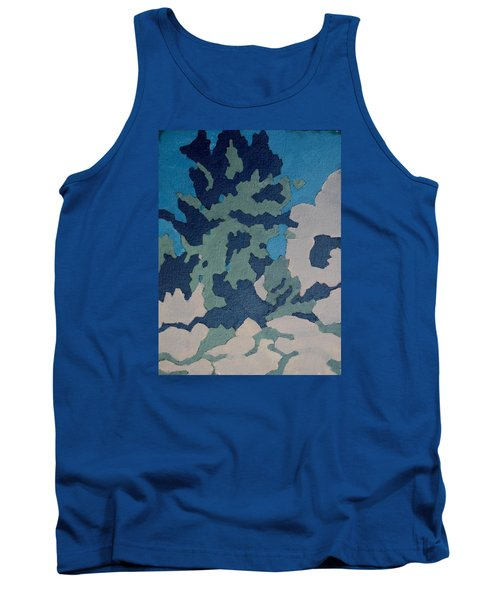 Hidden Valley Abstraction Tank Top by Richard Willson