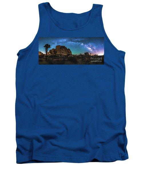 Hidden Valley Milky Way Panorama Tank Top