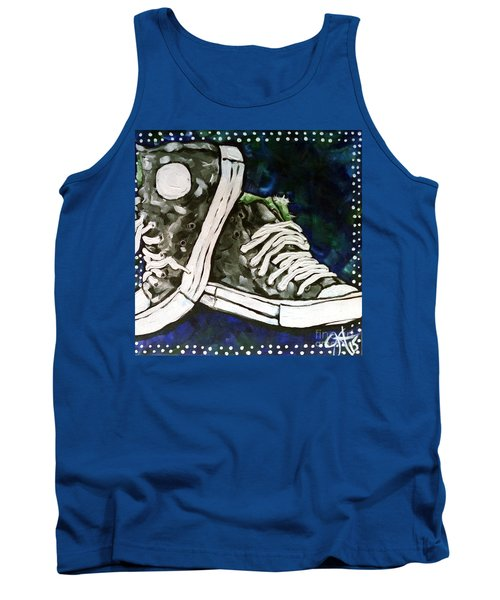 High Top Heaven Tank Top by Jackie Carpenter