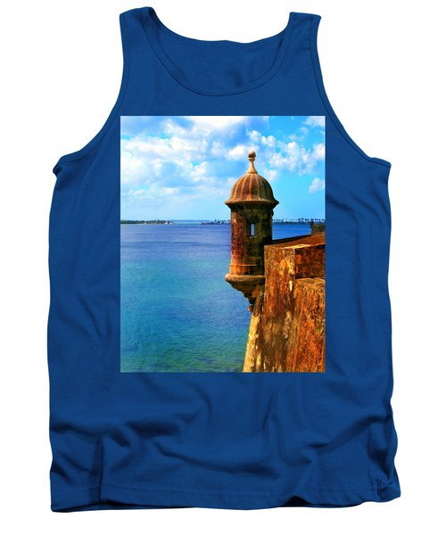 Historic San Juan Fort Tank Top by Perry Webster