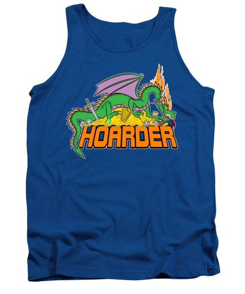Tank Top featuring the digital art Hoarder by J L Meadows