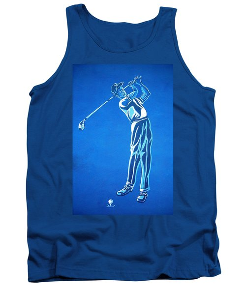 Tank Top featuring the photograph Hole In One ... by Juergen Weiss