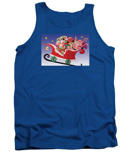Holiday Twin Delivery Tank Top