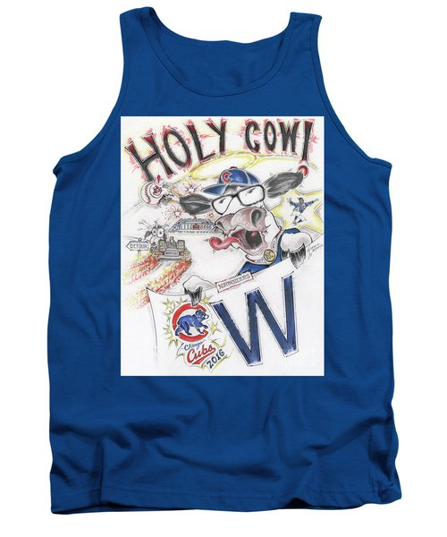 Holy Cow  Tank Top by Scott and Dixie Wiley