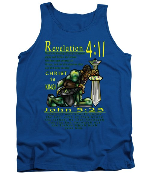 Honor The Father And Son O Israel Tank Top