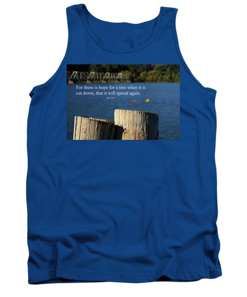 Hope For A Tree Tank Top by James Eddy