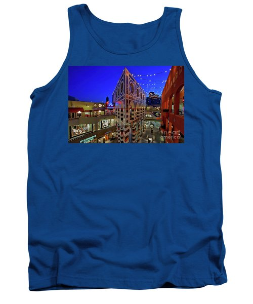 Horton Plaza Shopping Center Tank Top by Sam Antonio Photography