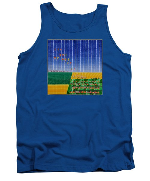 Hot Air Balloon Party Tank Top