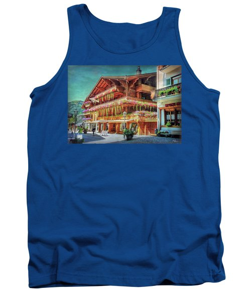 Tank Top featuring the photograph Hot Spot by Hanny Heim