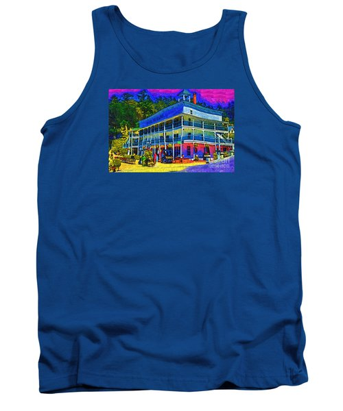Tank Top featuring the digital art Hotel De Haro by Kirt Tisdale