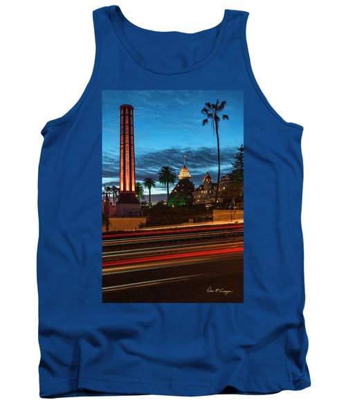 Tank Top featuring the photograph It's Still Standing by Dan McGeorge