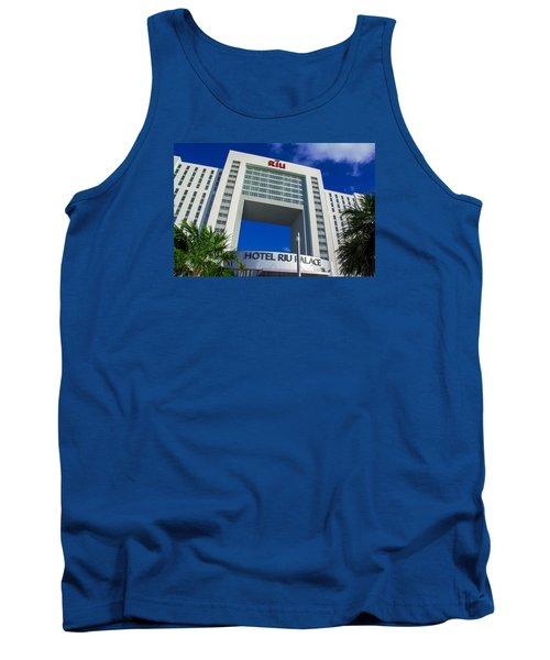 Hotel Riu Palace In Cancun Tank Top