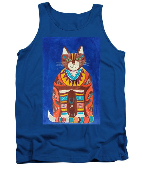 Huey Cat Tank Top