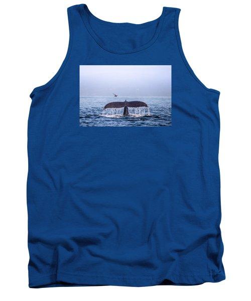 Humpback Whale Flukes Tank Top