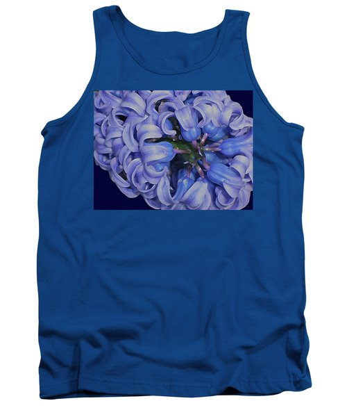 Hyacinth Curls Tank Top