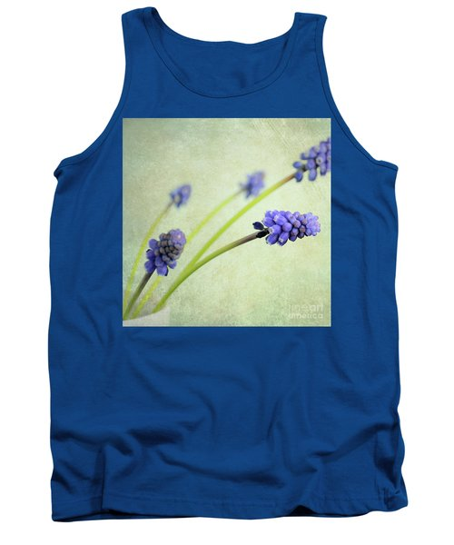 Hyacinth Grape Tank Top by Lyn Randle