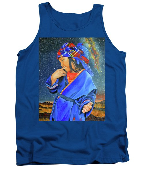 I Want To Put A Ding In The Universe Tank Top