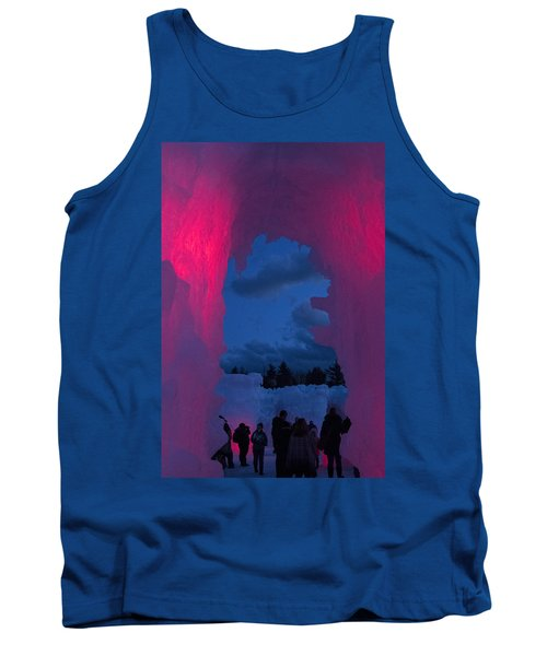 Ice And Colors  Tank Top by Betty Pauwels