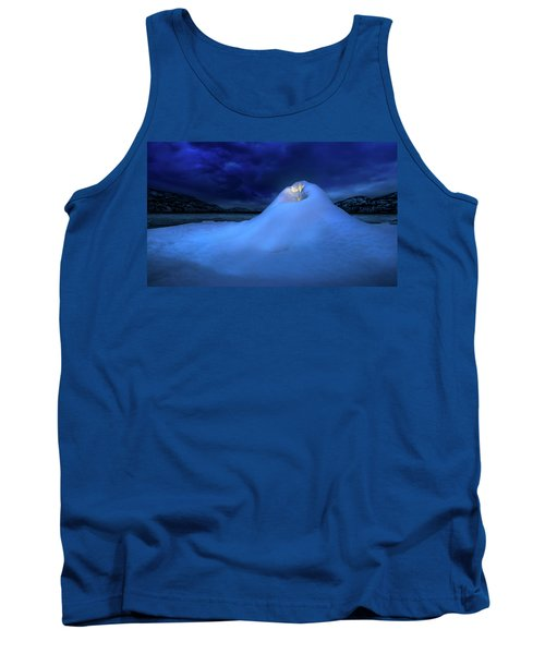 Tank Top featuring the photograph Ice Volcano by John Poon