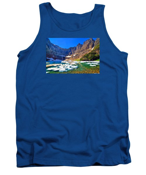Tank Top featuring the photograph Iceberg Lake by Greg Norrell