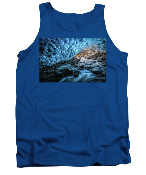 Icelandic Ice Cave Tank Top