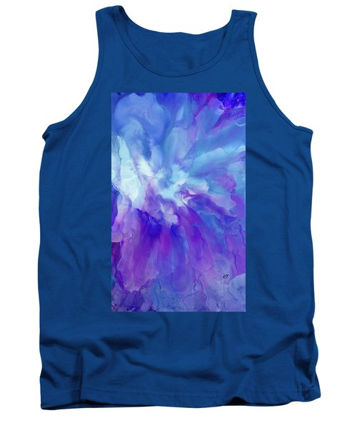 Icy Bloom Tank Top