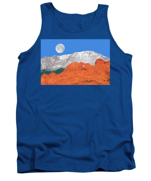 If You're Lucky Enough To Live In The Mountains, You're Lucky Enough.  Tank Top by Bijan Pirnia