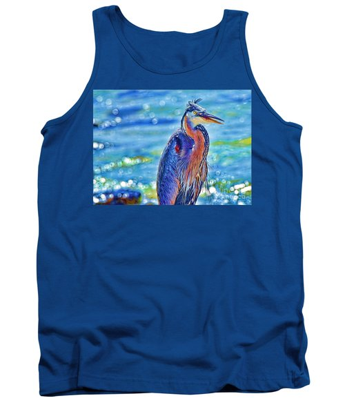 I'm A Colorful Guy Tank Top by Pamela Blizzard