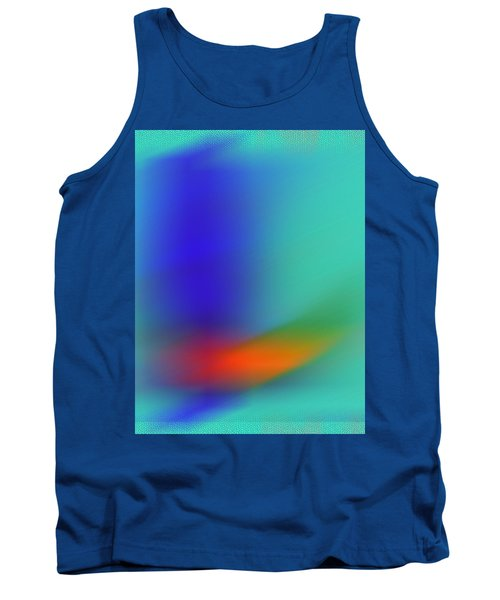 Tank Top featuring the digital art In Flight by Prakash Ghai