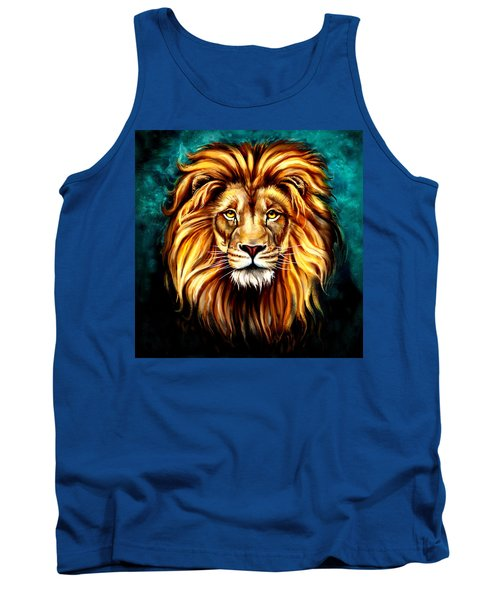 Tank Top featuring the digital art In Honor Of Cecil by Karen Showell