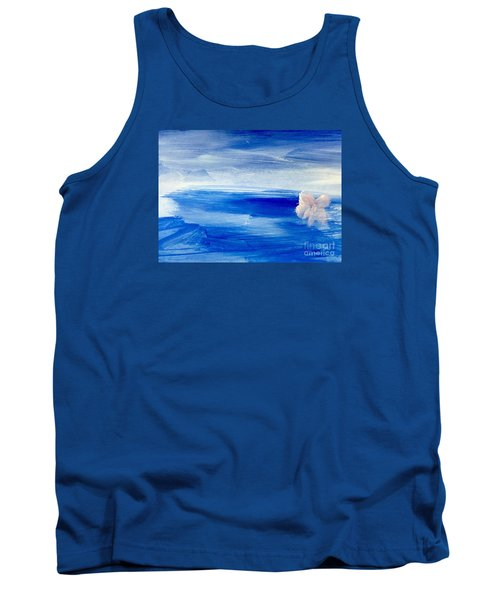 Tank Top featuring the painting In This Sea Of Life by Trilby Cole