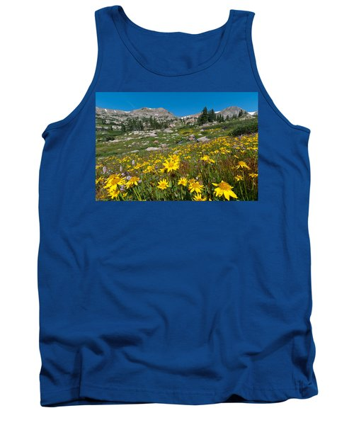 Indian Peaks Summer Wildflowers Tank Top