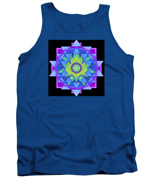 Inner Light Mandala Tank Top by Mimulux patricia no No