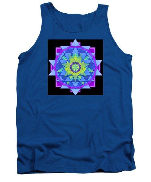 Inner Light Mandala Tank Top