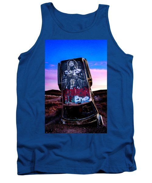 International Car Forest Of The Last Church 4 Tank Top